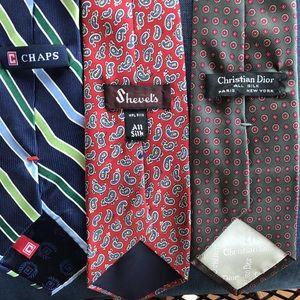 Lot of 3 Men's Ties